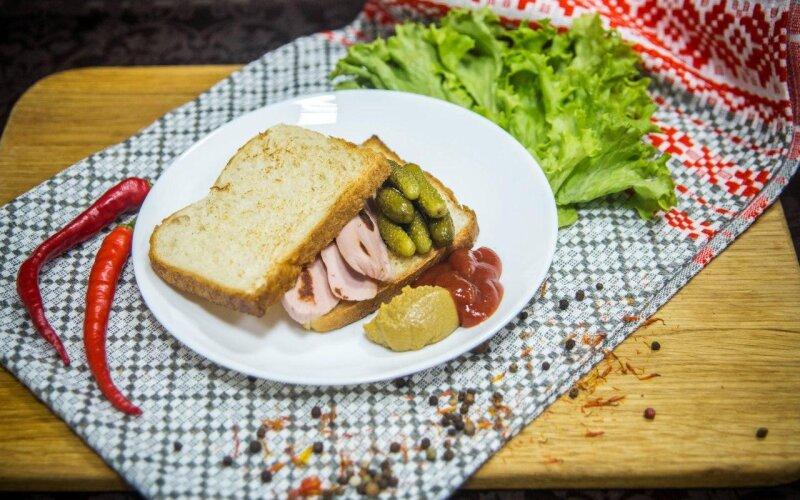 Сэндвич «Пожарная часть»