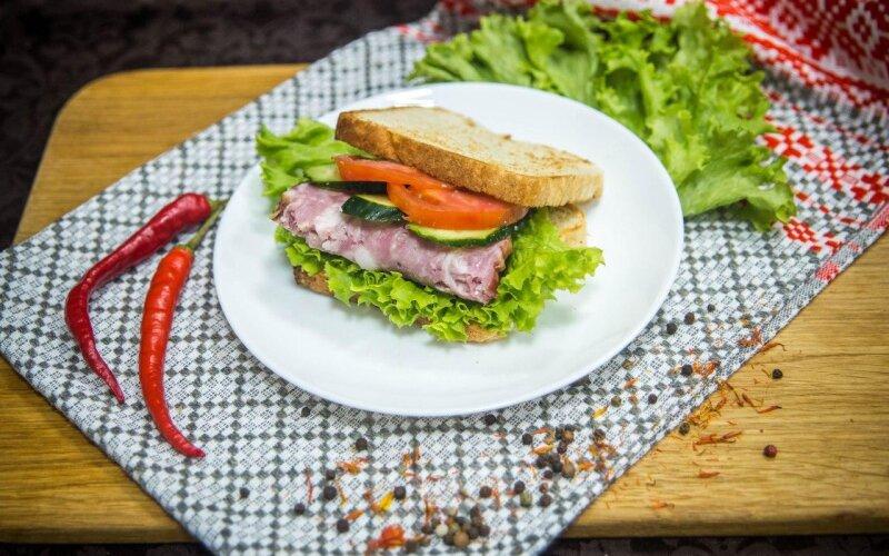 Сэндвич «Дядя Сэм»