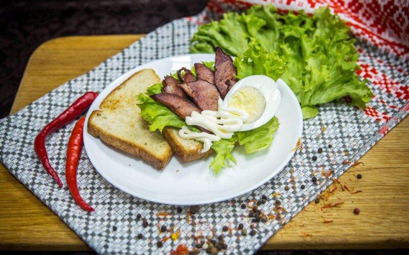 Сэндвич «Дровосек»
