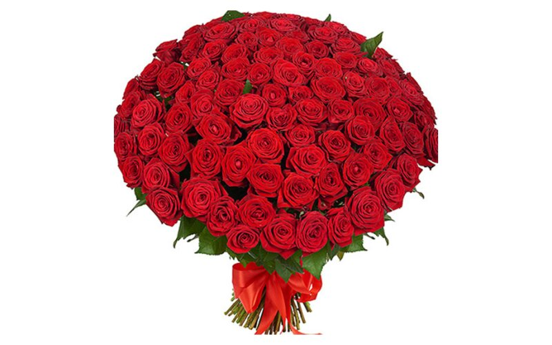 Букет из 101 розы «Любовь»
