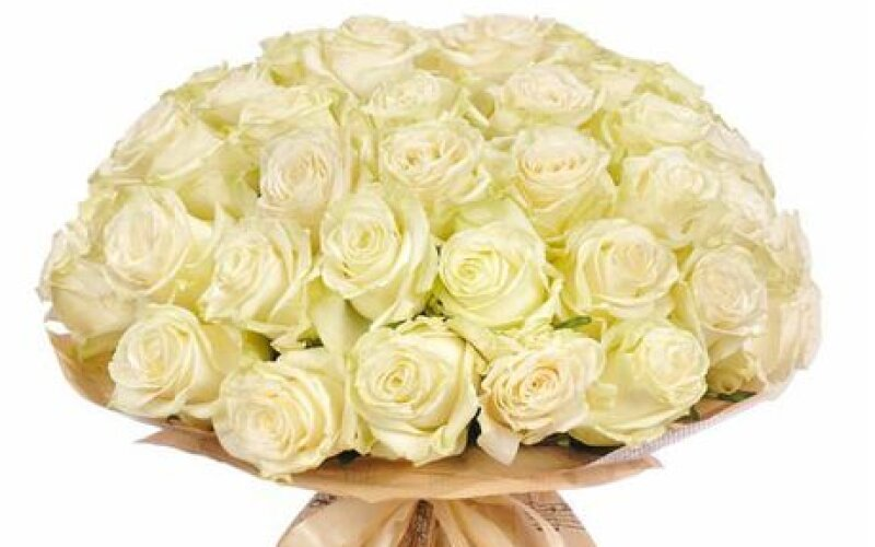 Букет «Белые розы»