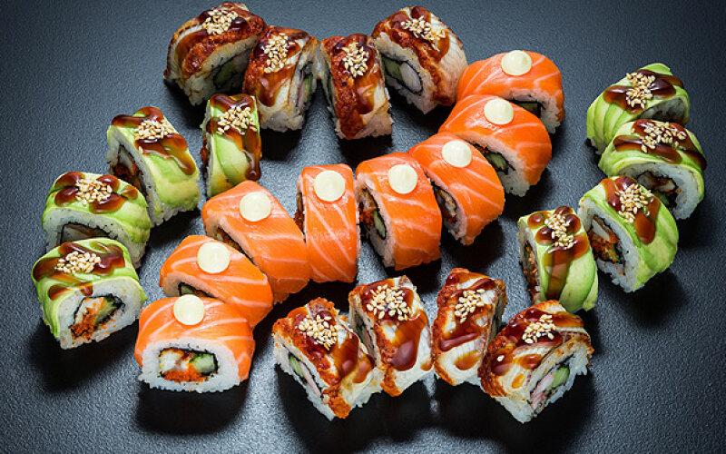 Суши-сет «Три дракона»