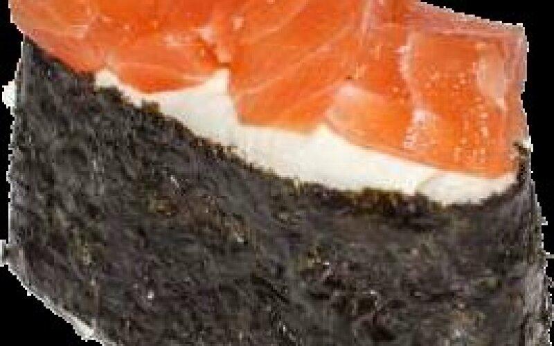 Гункан «Сливочный сыр и лосось»