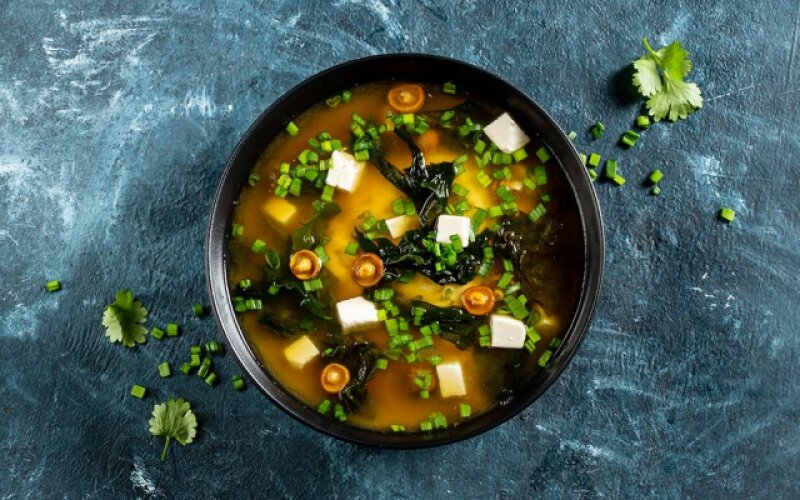 Суп «Мисо широ»