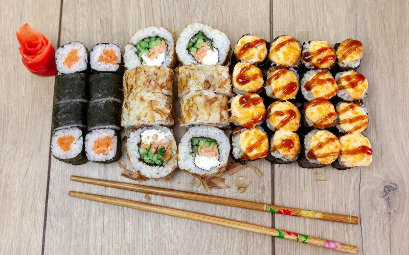 Суши-сет «Вкусная четвёрка»
