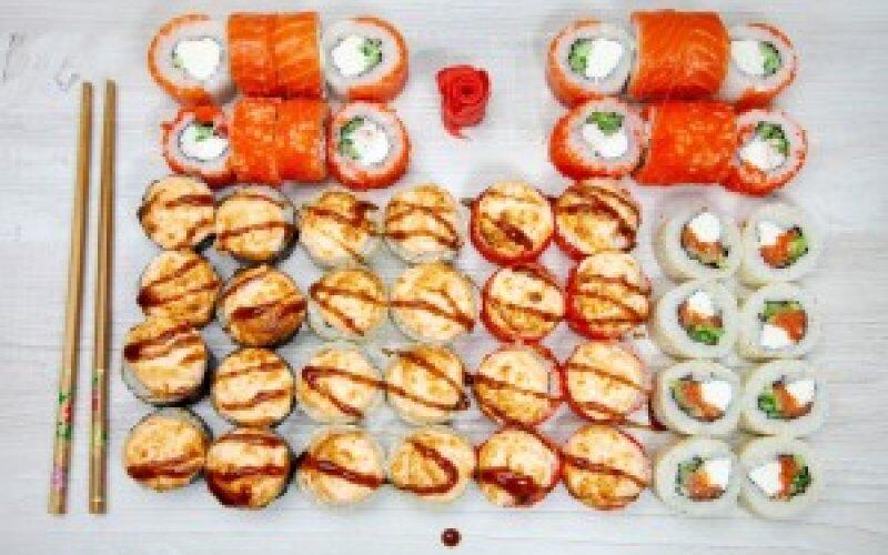 Суши-сет «50 на 50»