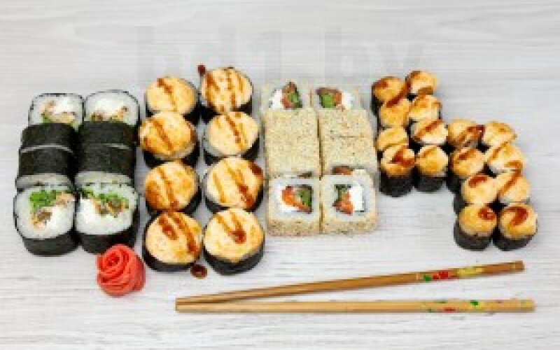 Суши-сет «Ужин с сериалом»