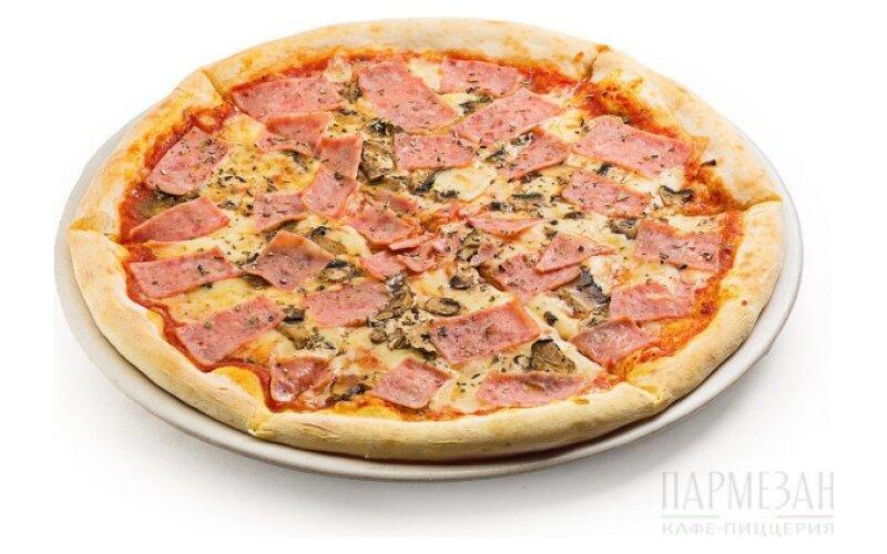 Пицца BIG «Ветчина и грибы»