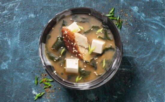 Мисо-суп сугрём