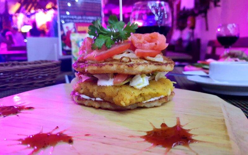 Дранбургер с рыбой