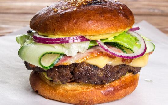 Бургер «Фреш» (свинина+говядина)
