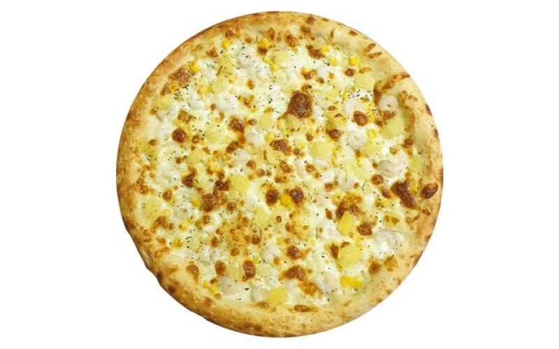 Пицца с креветками в соусе «Кисло-сладком»
