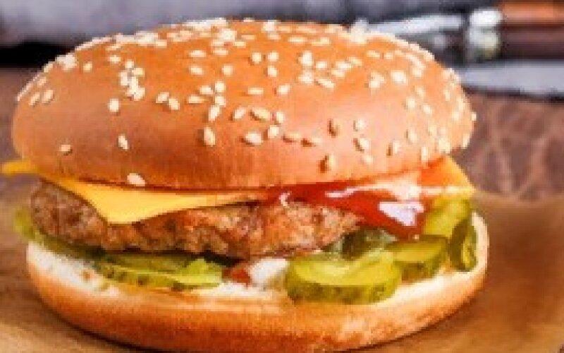 Чизбургер со свининой