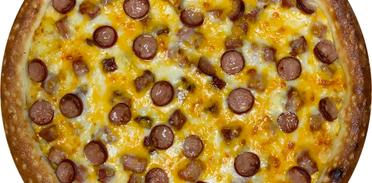 Пицца «Колбаски чеддер»