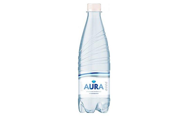Вода питьевая Aura негазированная
