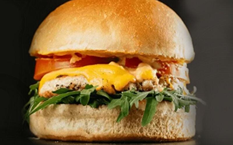 Бургер «Горячая цыпа»