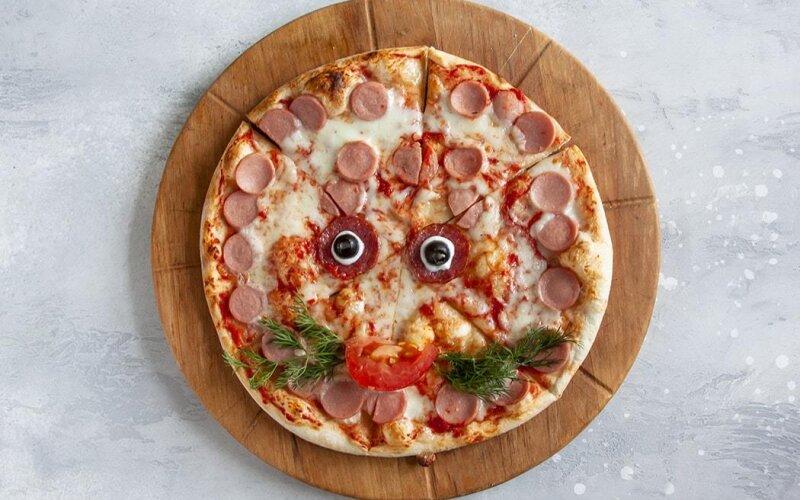 Пицца «Котик»