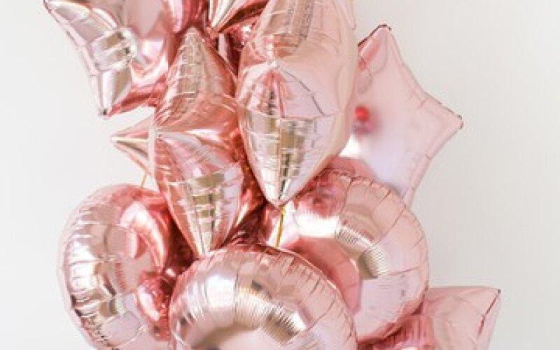Связка из фольгированных шаров