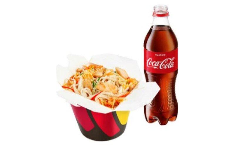 Комбо с «Кока-колой»