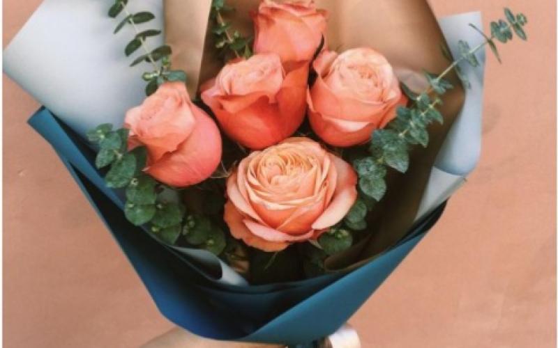 Букет Из 5 Роз «Кохала»
