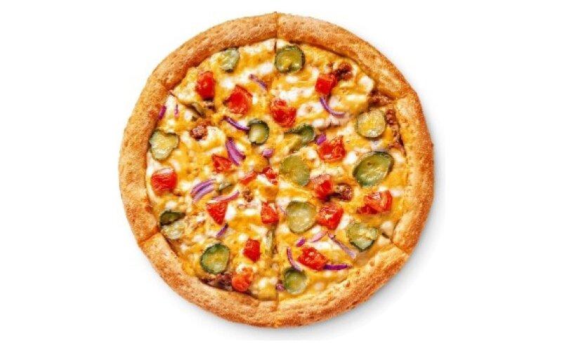 Пицца «Чизбургер-пицца» на традиционном тесте