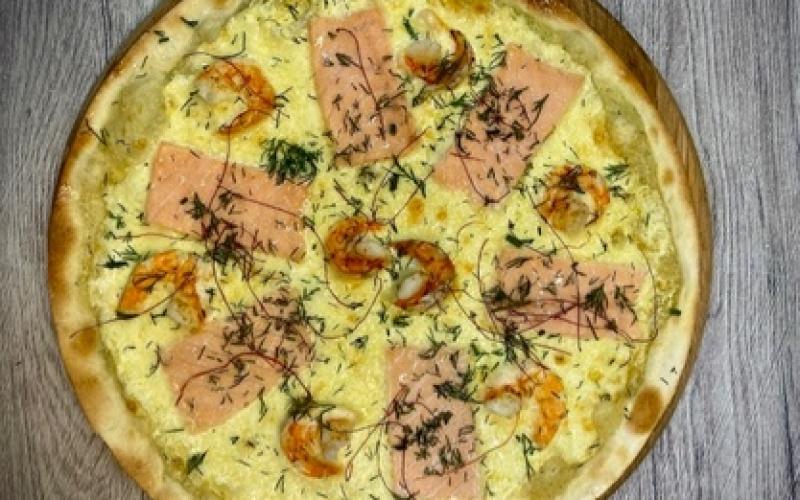 Пицца «Фрутти ди маре» (с морепродуктами)
