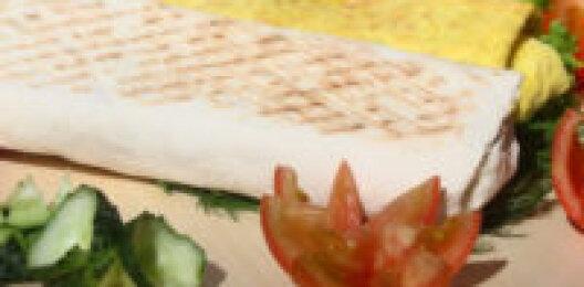 Шаурма с сыром и грибами XXL