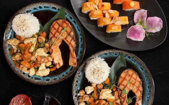 Суши-сет «Осенний лосось2»