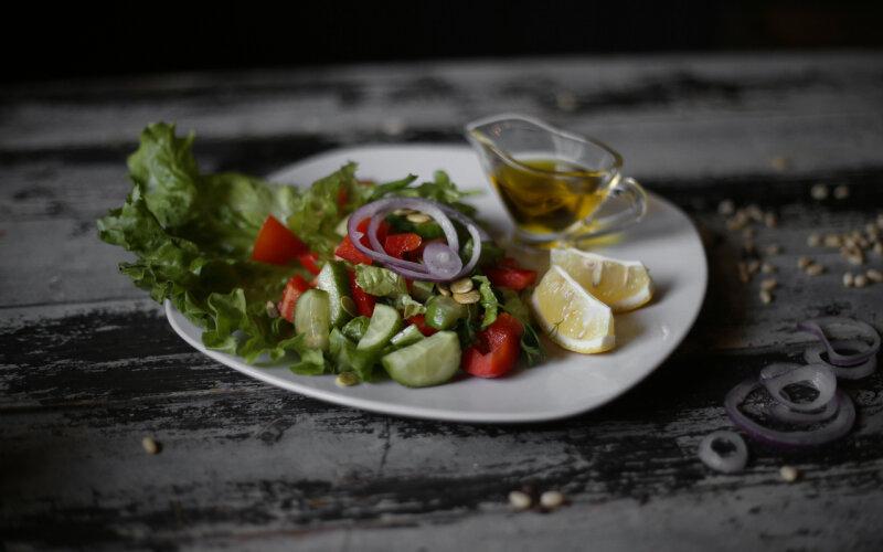 Микс-салат из овощей