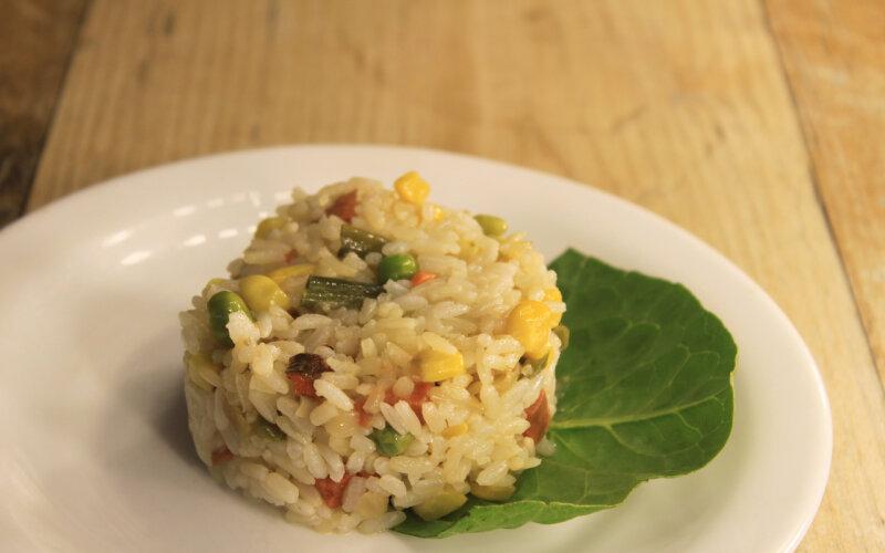 Рис со смесью «Мексиканской»