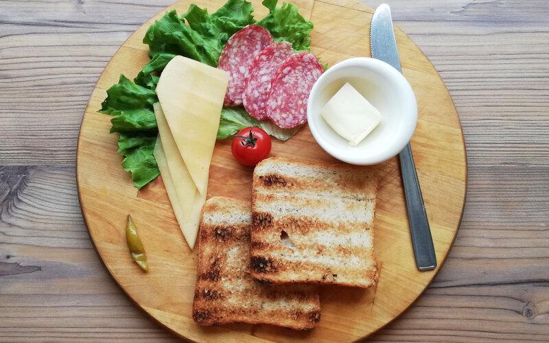 Сборный бутерброд