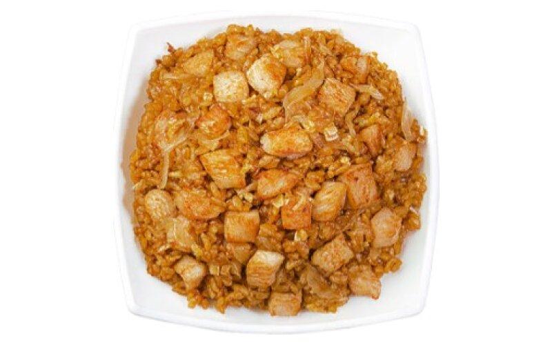 Рис с цыплёнком в китайском соусе