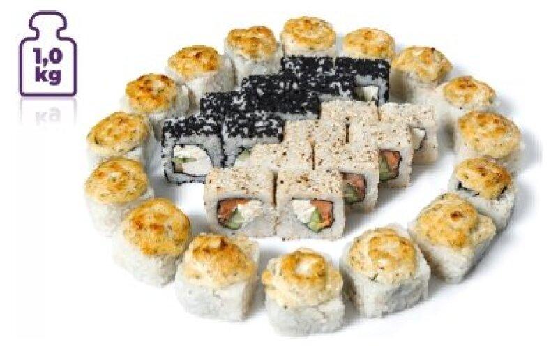 Суши-сет «1 кг Гуру»