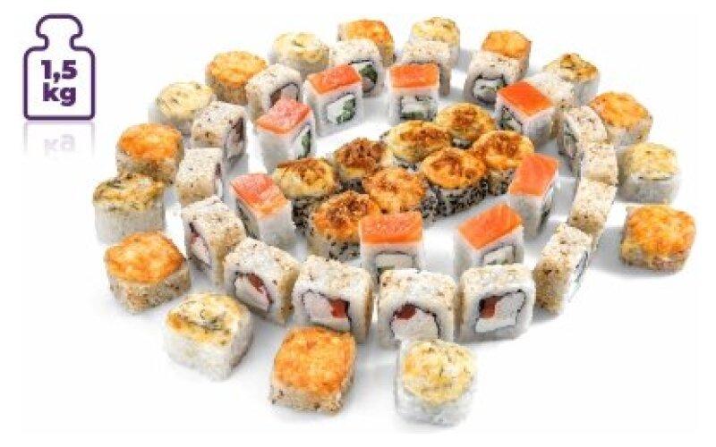 Суши-сет «1, 5 кг роллов»