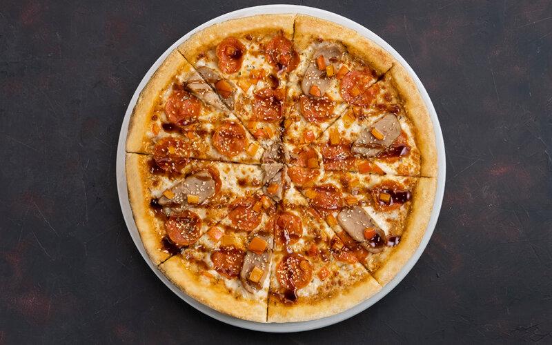 Пицца «Свинина спайси & терияки»