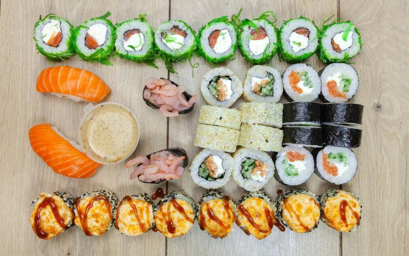 Суши-сет «Яркое безумие»