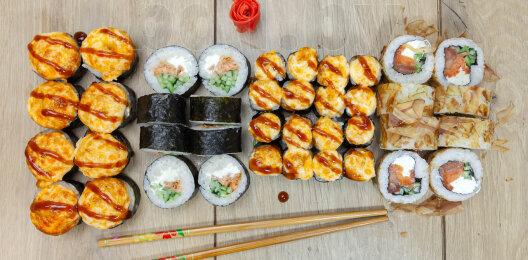 Суши-сет «Алёнка на удалёнке»