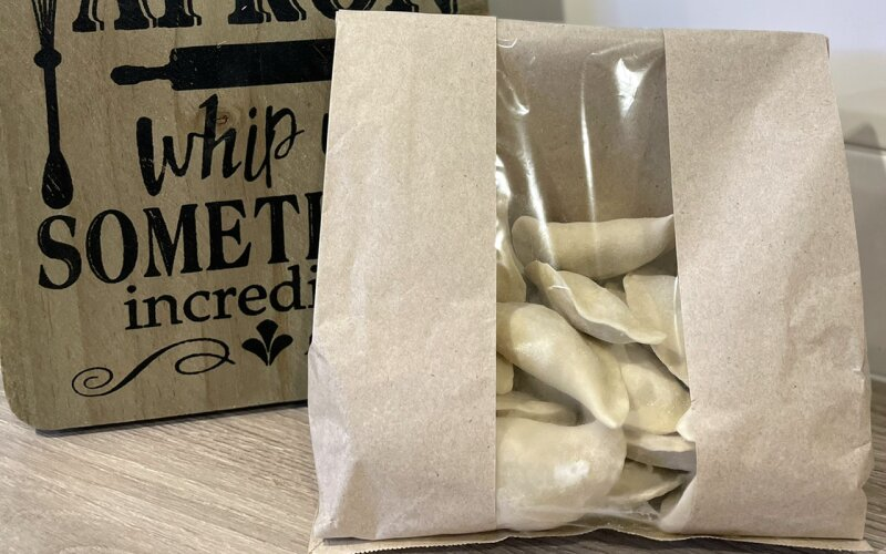 Вареники с картофелем, грибами и луком (замороженные)