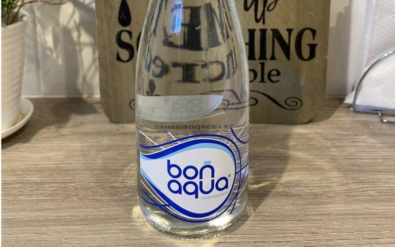 Вода «Бон-Аква» газированная