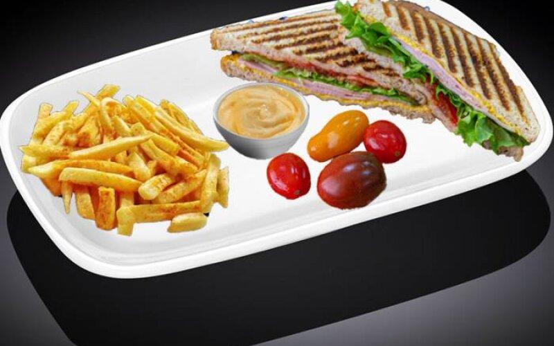 Сэндвич «Карбонад лайт»