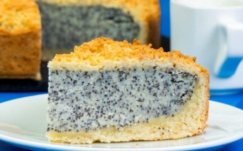 Десерт немецкий маковый