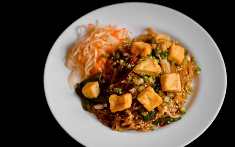 Лапша «Фо-сао» с сыром «Тофу»