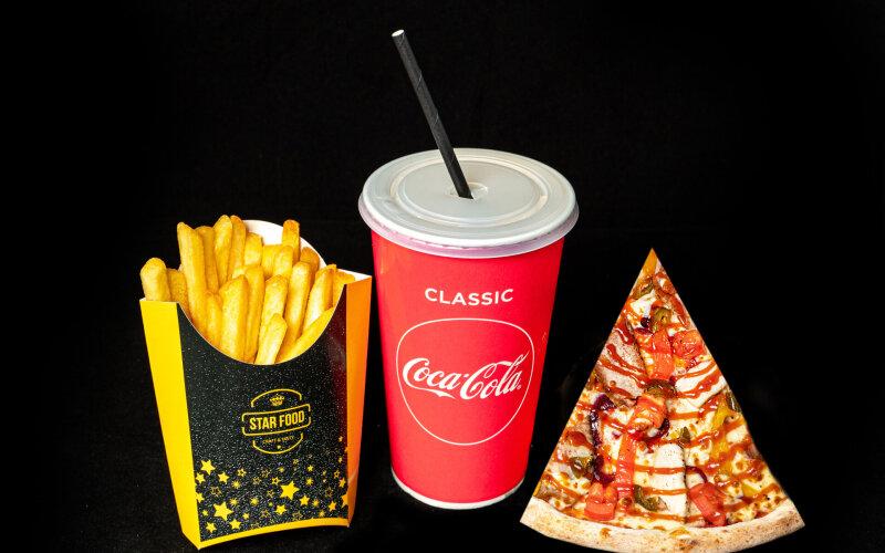 «STAR-комбо» с кусковой пиццей