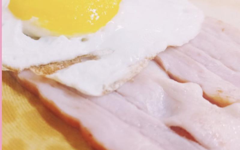 Блин «Бекон-яйцо»