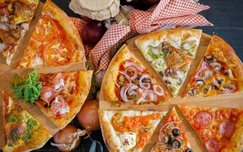 Пицца «Цыплёнок и грибы»