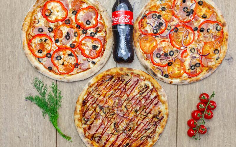 Пицца-сет «Комбо героев»