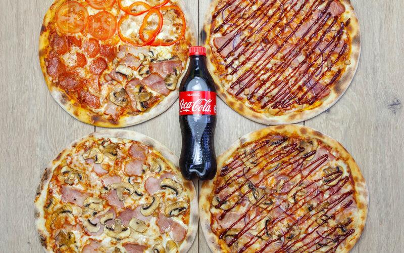Пицца-сет «Большой Пиццовский»