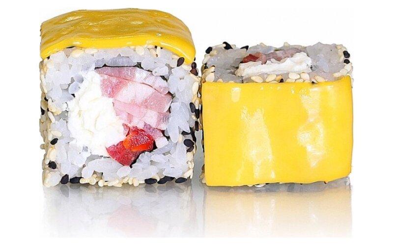 Ролл «Бекон и сыр»