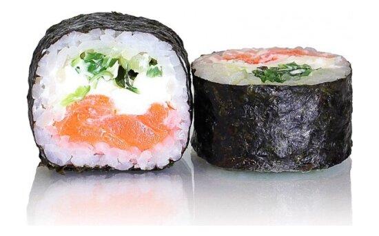 Ролл «Сливочный лосось» счукой