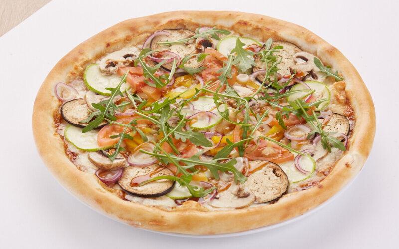 Пицца «Овощи терияки»